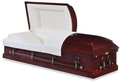 Lenox Cherry Wood Casket