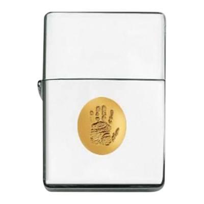 Zippo Print 14k Yellow Gold Keepsake