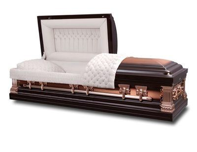 Lincoln Copper Casket