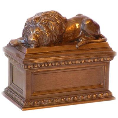 Lions Den Pet Cremation Urn