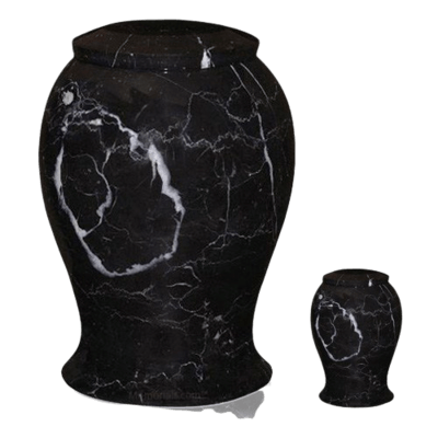 Lotus Marble Cremation Urns