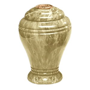 Majestic Marble Cremation Urn IV