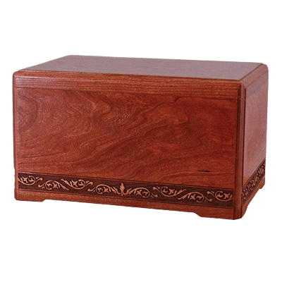Majesty Wood Cremation Urn