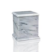 Eversquare White Keepsake Urn