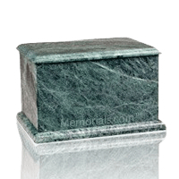 Evermore Green Keepsake Urn