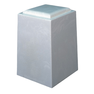 Ivory Marble Cremation Urn
