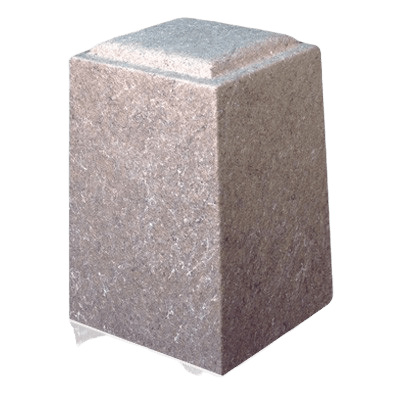 Chestnut Marble Cremation Urn