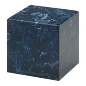 Navy Cube Pet Cremation Urns