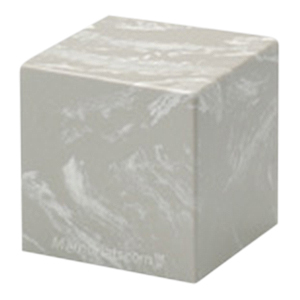 Silver Gray Cube Pet Cremation Urns