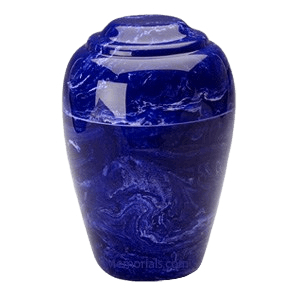 Grecian Cobalt Marble Cremation Urns