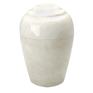 Grecian Pearl Onyx Cremation Urns