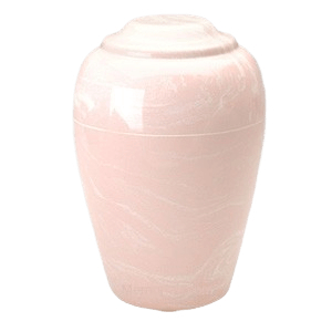 Grecian Pink Marble Cremation Urn II