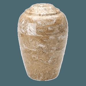 Grecian Syrocco Marble Cremation Urn II