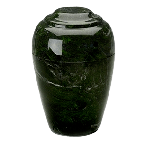 Grecian Verde Marble Cremation Urns