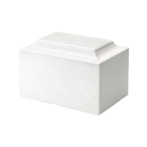 Angel White Children Cremation Urn