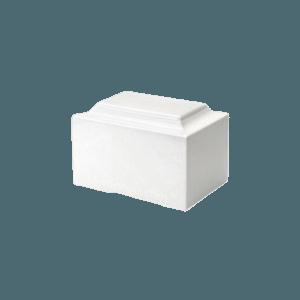 White Marble Keepsake Urn