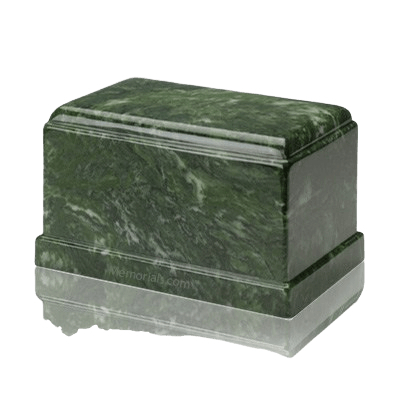 Olympus Emerald Marble Cremation Urn