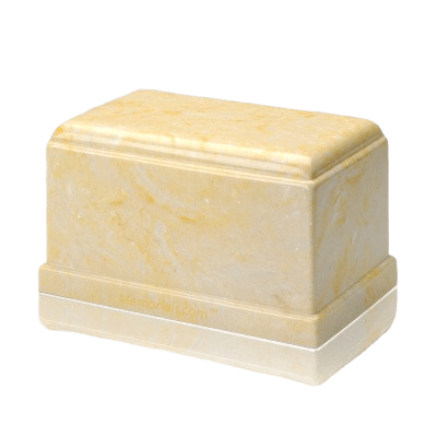 Olympus Gold Marble Cremation Urn