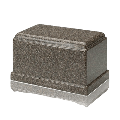 Olympus Kodiak Brown Granite Cremation Urn