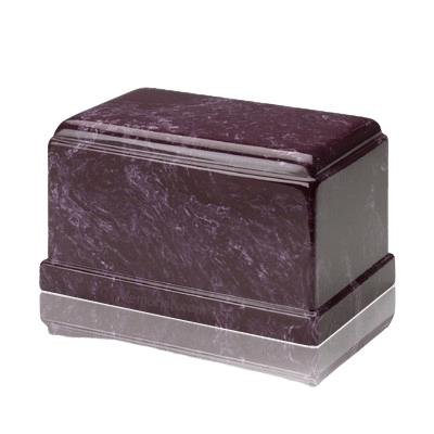 Olympus Merlot Marble Cremation Urn