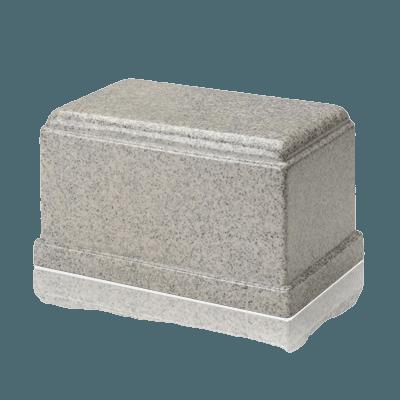 Olympus Mist Gray Granite Cremation Urn