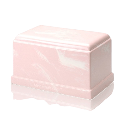 Olympus Pink Marble Cremation Urn