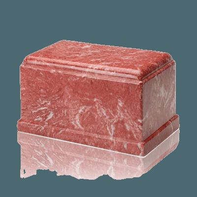Olympus Rose Marble Cremation Urn