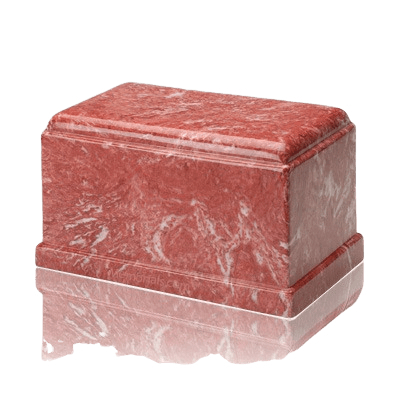 Olympus Rose Marble Cremation Urn