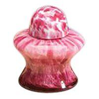 Pet Pink Glass Urn