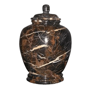Black Orchid Child Cremation Urn
