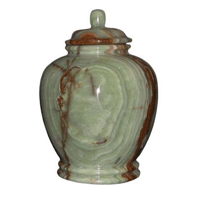 Green Onyx Child Cremation Urns
