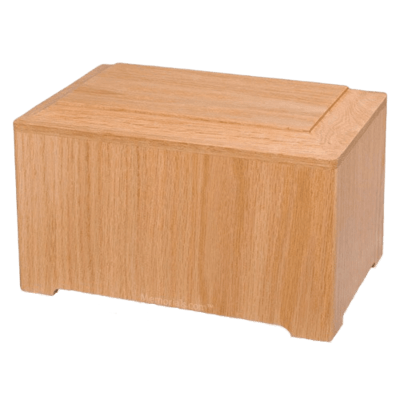 Marquis Oak Wood Urn
