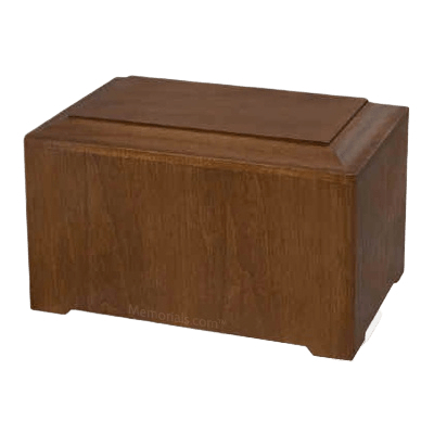 Marquis Walnut Wood Urn II