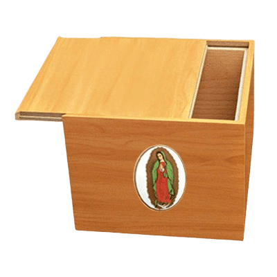Norwegian Lady of Guadalupe Cremation Urn