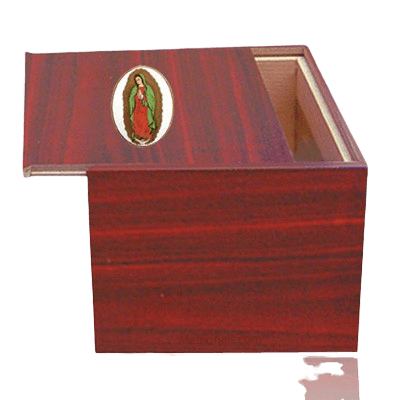 Danish Lady of Guadalupe Cremation Urn