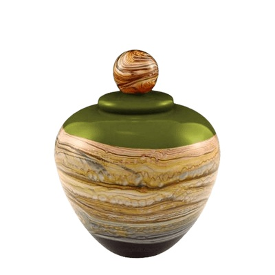 Memoriam Lime Small Art Urn