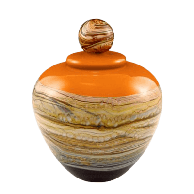 Memoriam Mandarin Medium Art Urn