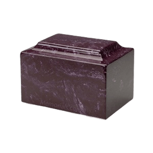 Merlot Marble Medium Urn
