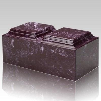 Merlot Marble Companion Cremation Urn