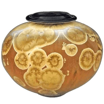Mesmerized Art Cremation Urn