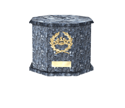 Mila Blue Pearl Cremation Urn