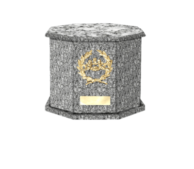 Mila Grey Cremation Urn