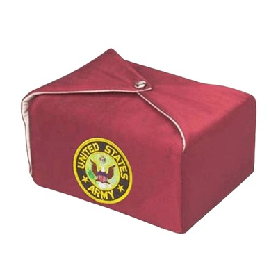 Maroon Military Wrap Cremation Urn