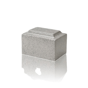 Mist Gray Granite Keepsake Urn