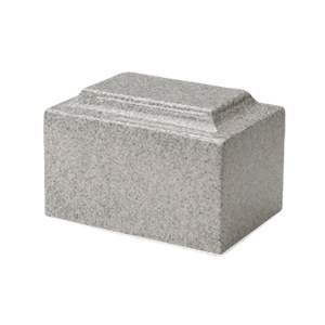 Mist Gray Granite Medium Urn