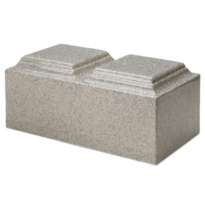Mist Gray Granite Companion Urn