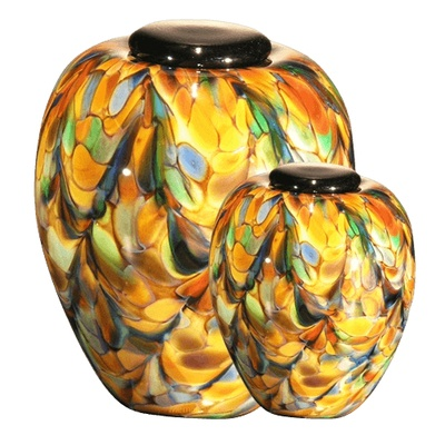Mundo Glass Cremation Urns