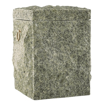 Natural Chlorite Stone Cremation Urn