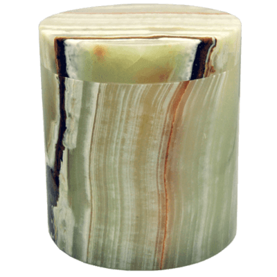Noble Green Marble Cremation Urn