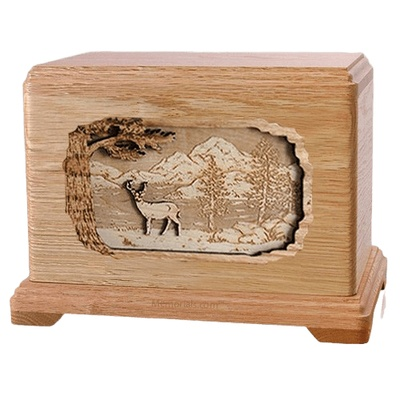 Deer Oak Hampton Cremation Urn